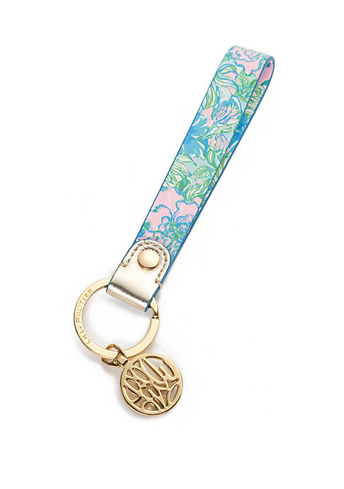 Lilly Pulitzer® Party Thyme Strap Keychain