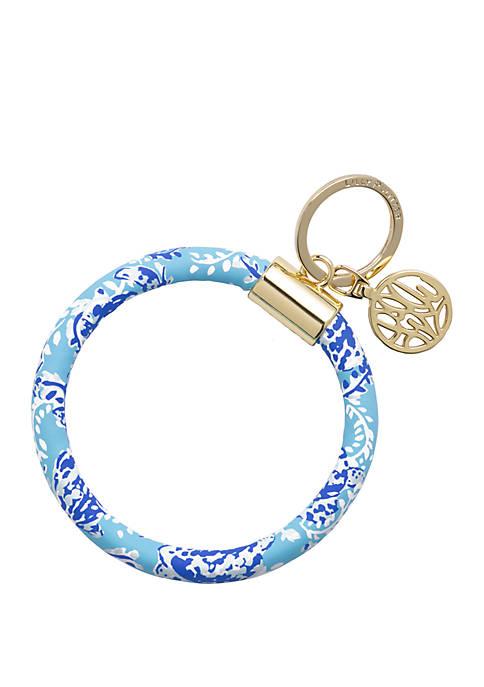 Turtley Awesome Circle Key Chain