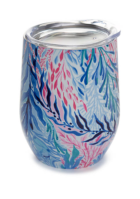 Kaleidoscope Coral Insulated Stemless Tumbler