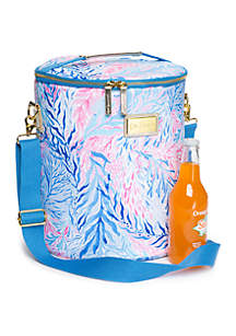Lilly Pulitzer® Kaleidoscope Coral Beach Cooler