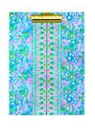 Aqua La Vista Folio Clipboard