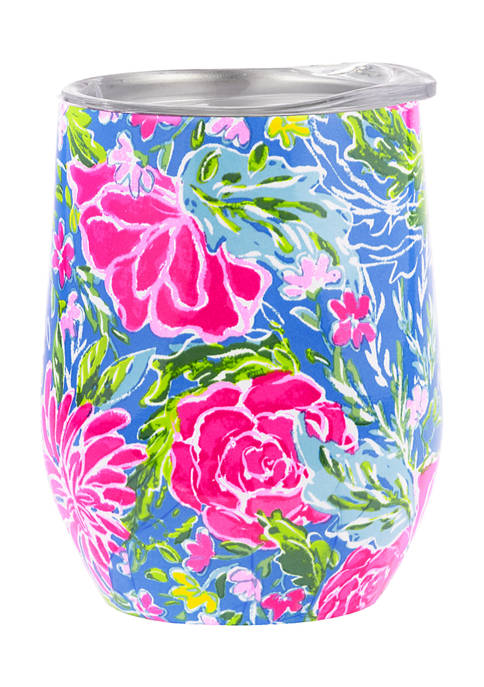 Lilly Pulitzer® Bunny Business Stainless Steel Wine Tumbler