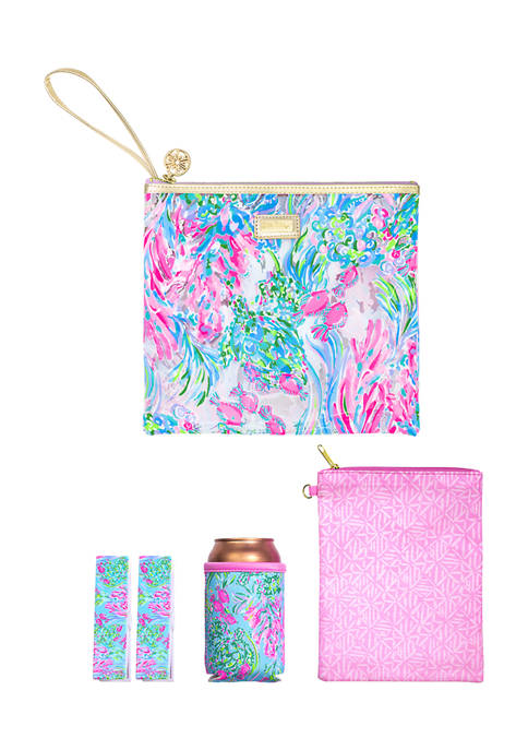 Lilly Pulitzer® Best Fishes Beach Day Pouch
