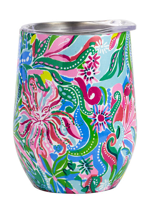 Lilly Pulitzer® Golden Hour Insulated 12 Ounce Stemless