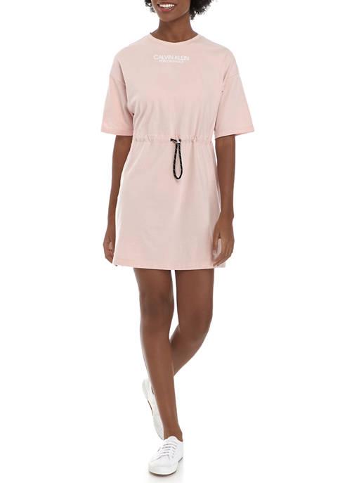 CK Performance Short Sleeve T-Shirt Dress
