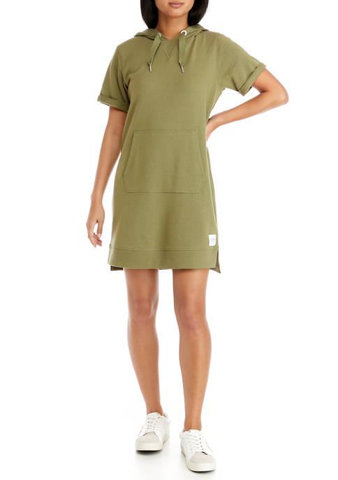 CK Performance Short Sleeve Hoodie Dress