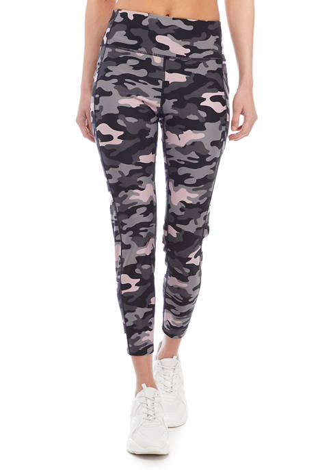 CK Performance Printed Side Pocket High Waisted Leggings