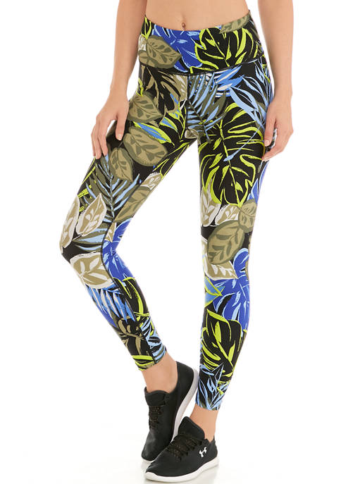 CK Performance High Waisted Printed Leggings