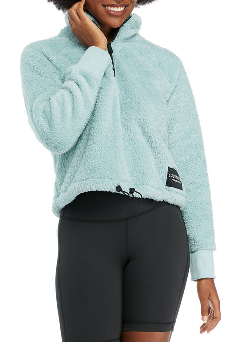 CK Performance Long Sleeve Mock Neck Pullover