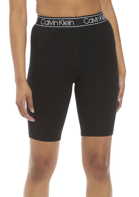 CK Performance Large Waistband Bike Shorts with Cell