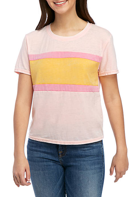 Color Blocked T Shirt