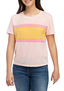 TRUE CRAFT Color Blocked T Shirt