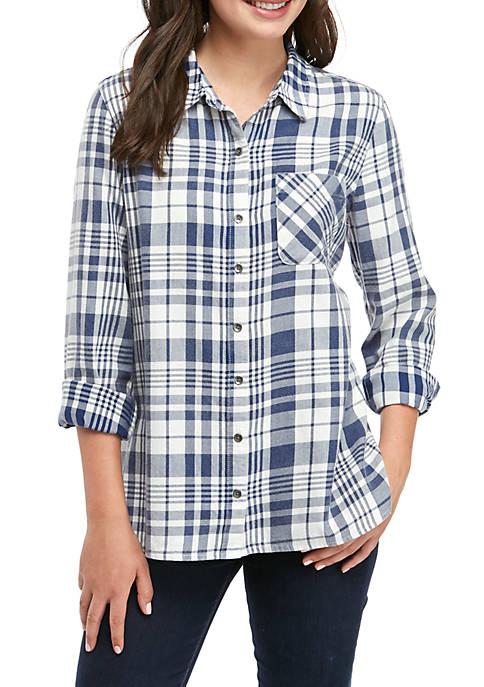 Basic Plaid Shirt