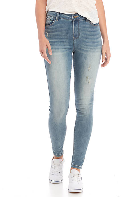 TRUE CRAFT Mid Rise Skinny Jeans