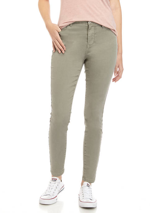 TRUE CRAFT Juniors Mid Rise Skinny Jeans