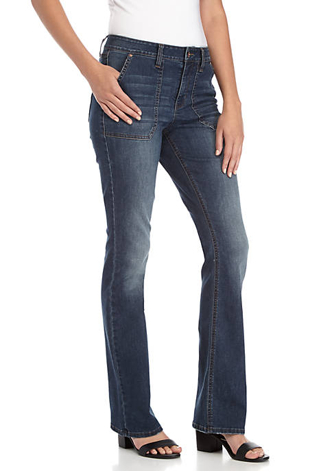 TRUE CRAFT Porkchop Pocket Bootcut Jeans