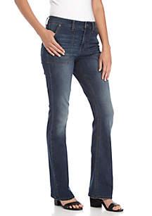 Porkchop Pocket Bootcut Jeans