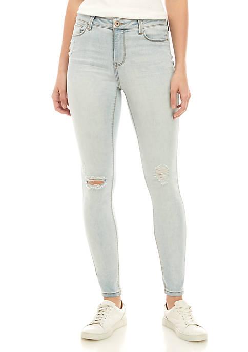 Midrise Skinny Jeans - Short