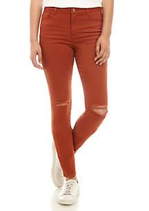 TRUE CRAFT Midrise Skinny Jeans - Short
