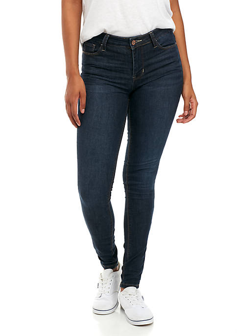TRUE CRAFT Midrise Skinny Jeans