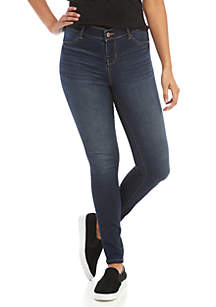 Midrise Pull On Jeggings
