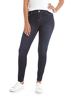 Midrise Pull-On Jeggings