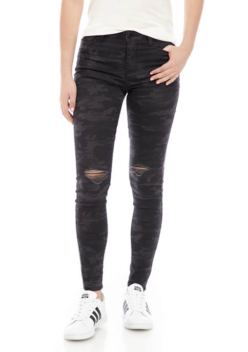 TRUE CRAFT High Rise Skinny Jeans