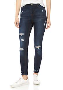 TRUE CRAFT High Rise Skinny Jeans