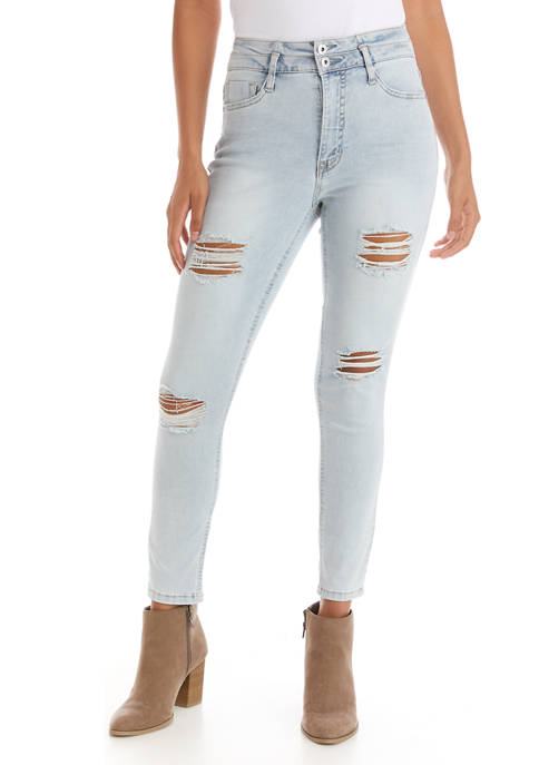 TRUE CRAFT Juniors Curvy Fit Skinny Jeans