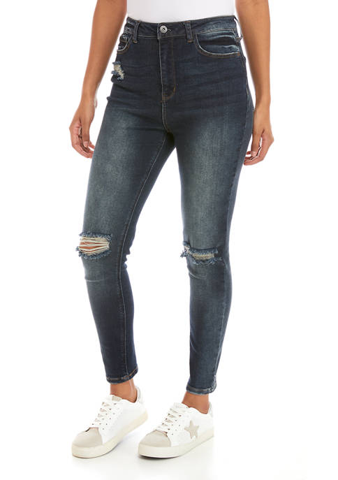 TRUE CRAFT Cheeky High Rise Skinny Jeans