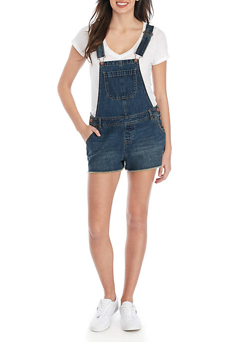 87336827a36a TRUE CRAFT Denim Short Overalls