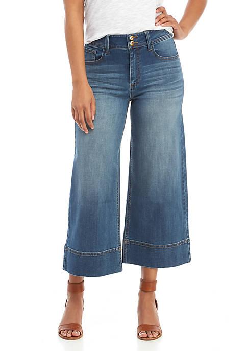 Wide Crop Gardner Jeans