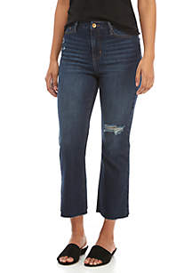 Jerry Crop Flare Jeans