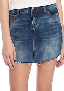 TRUE CRAFT Denim Skirt