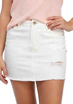 8dcd9146ac TRUE CRAFT Denim Skirt ...