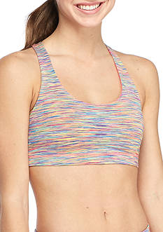 Inspired Hearts Sports Bra with Crisscross Back
