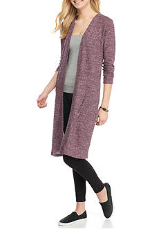 Inspired Hearts Open Duster Cardigan