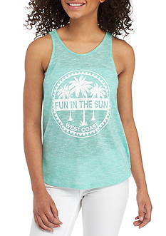 Charmed Hearts Flyaway Back Tank