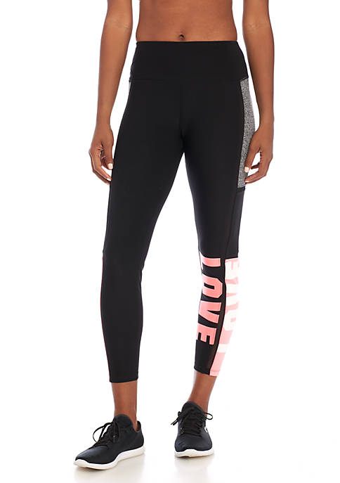 Charmed Hearts Colorblock Love Legging