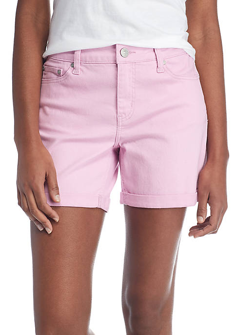 New Directions® Pocket Cuff Rolled Shorts