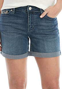 New Directions® Bling Cuff Shorts