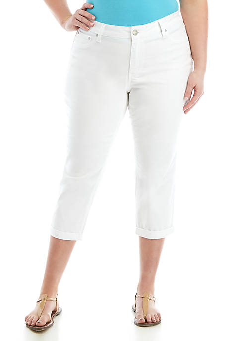 Plus Sized Altered Rolled Cuff Pants