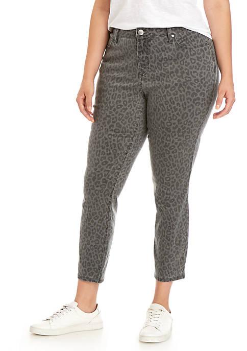 Plus Size Skinny Denim Jeans