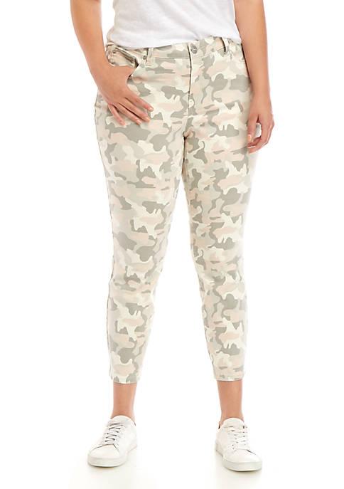 New Directions® Plus Size Skinny Denim Jeans