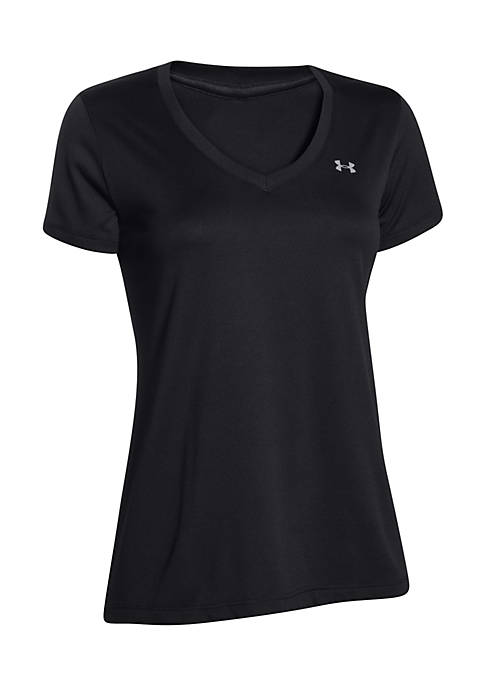 Under Armour® Womens Tech Solid Short Sleeve