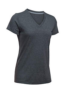 Threadborne Short Sleeve V-Neck Top