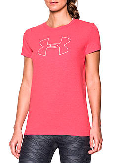 Under Armour® Big Logo Crew Neck Tee