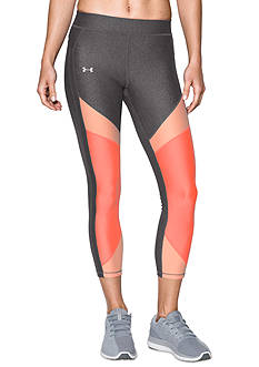 Under Armour® Colorblocked Ankle Crop Leggings