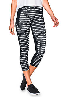 Under Armour® Mirror Printed Crop Capri
