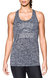 Under Armour® Wordmark Twisted Tank